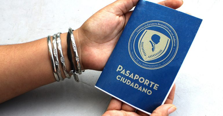 Pasaporte ciudadano en Secundaria Bene