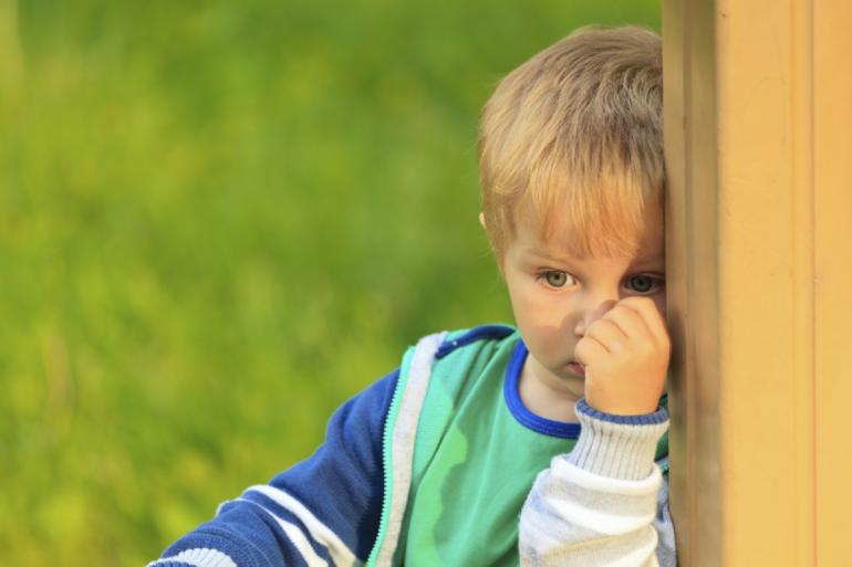 Cómo vencer la timidez durante la infancia